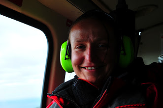 Photo: From Mykines to Torshavn by helicopter