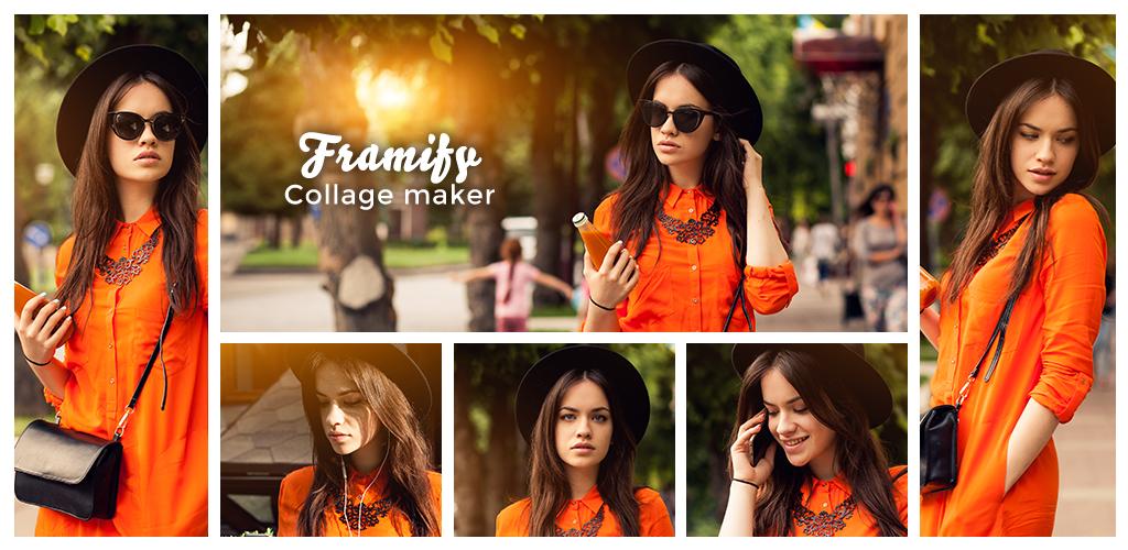 Framify - Collage maker photo frames photo editor 1.4 Apk Download ...