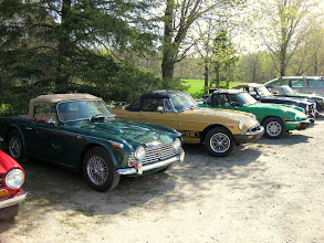 Photo: TR4, MGB, Spitfire