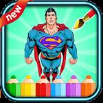super hero coloring spider boy icon