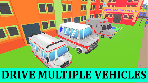 Ambulance Rescue Doctor Simulator - Hospital Games 1.2 screenshots 4