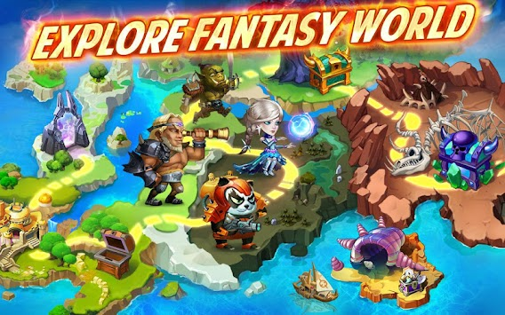 Battle Arena: Heroes Adventure apk screenshot