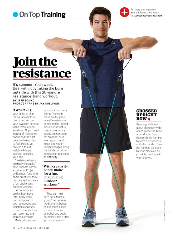 Men's Fitness- screenshot