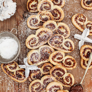 Nutella and Hazelnut Palmiers Recipe