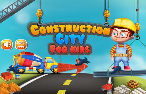 Construction City For Kids 1.0.4 screenshots 1