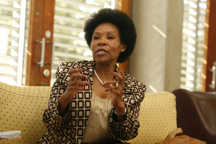 Former Constitutional Court Justice Yvonne Mokgoro. Picture: VATHISWA RUSELO