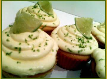 Mango Key Lime Cupcakes
