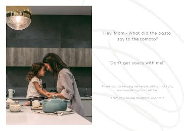 Don't Get Saucy with Me - Mother's Day Card Template