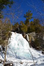 Photo: Beaver Meadow Falls under heavy ice.
