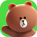 LINE FRIENDS - characters / backgrounds / GIFs icon