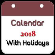 Calendar 2018 New