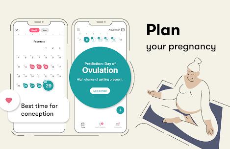 Flo Period tracker, Ovulation & Pregnancy tracker 3