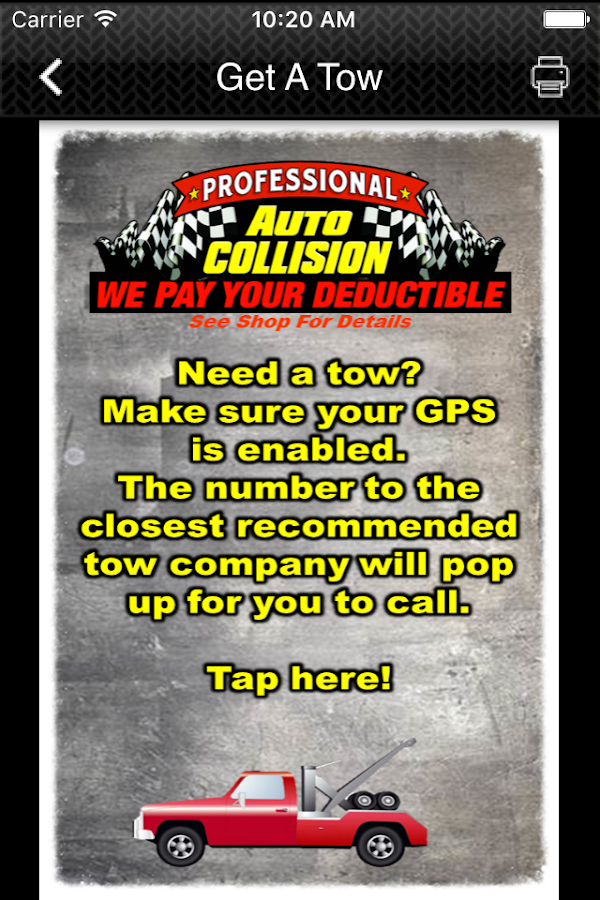 Professional Auto Collision- screenshot