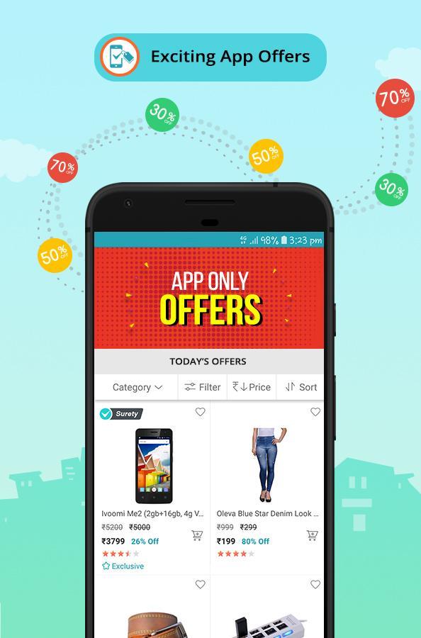 Screenshots of ShopClues: Online Shopping App for iPhone