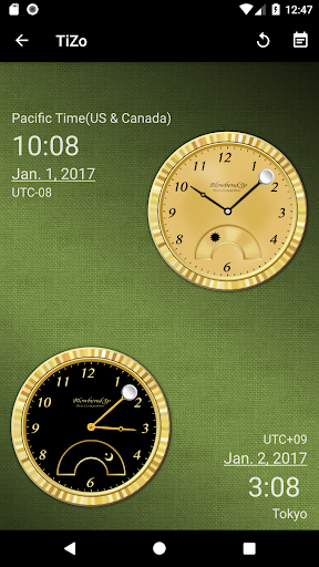TiZo(world time clock) 1.5.3 Windows u7528 3