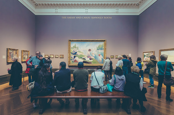 Con Seurat alla National Gallery di AliceB
