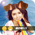 Snap Photo Filter & Emoji ♥ icon
