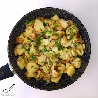 Crispy Fried Potatoes With Onions Recipes.