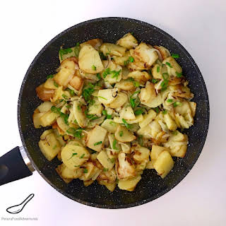 Crispy Fried Potatoes With Onions Recipes.