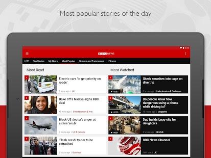 BBC News Screenshot 9