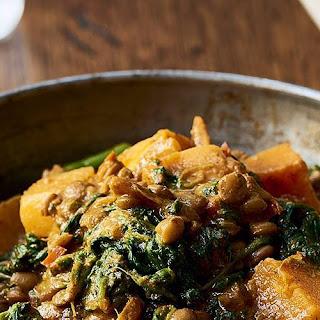 Butternut Squash and Spinach Curry Recipe
