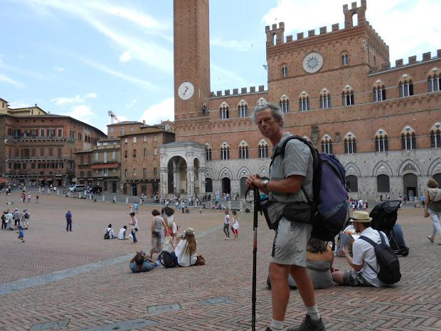 Place du Pallio à Sienne
