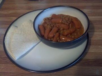 Lil Smokies And Beans Recipe