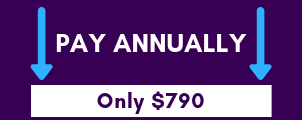 Pay annually only $790