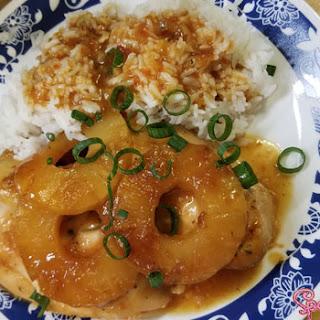 Sweet Hawaiian Crock Pot Pineapple Chicken.