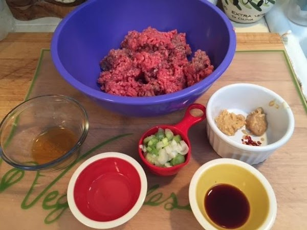 For the sliders: In a small bowl mix together all of the slider seasonings.