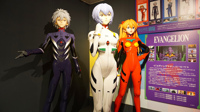 Evangelion at Suginami Animation Museum in Tokyo, Tokyo, Japan