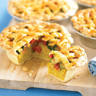 Nutty Vegetable Pie