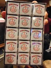 Photo: サプライズでチロルチョコをTGSのロゴ入りで作っていただきました!