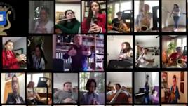 Los músicos de Níjar comparten su devoción y alegría en un vídeo muy especial.
