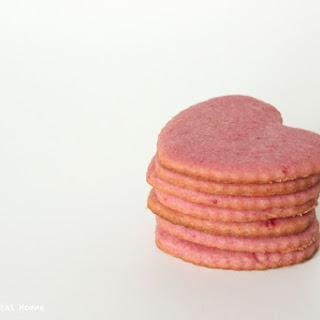 Dye-free Pink Sugar Cookies