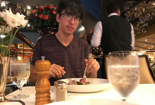 bobby-in-canaletto.jpg - That's me having dinner at Canaletto.