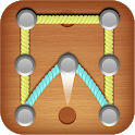 one line game -1line - one-stroke puzzle game icon