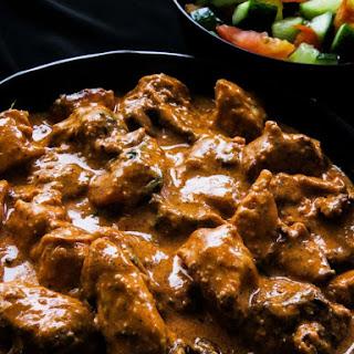 Creamy-fragrant Butter chicken( Indian murgh makhani)..