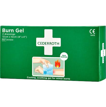Burn gel dressing        2/ask