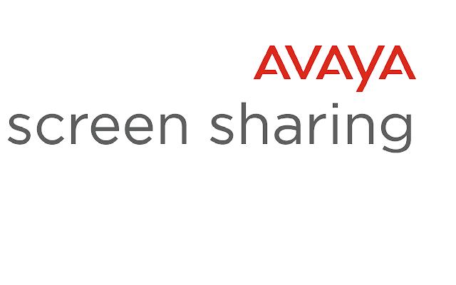 Avaya Screen Sharing