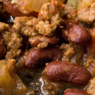 Bison and Bean Chili.