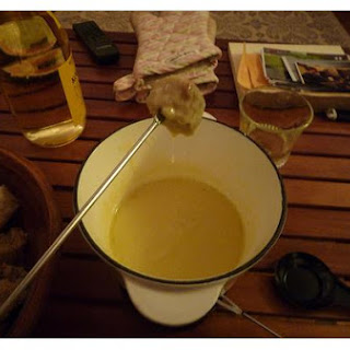 Cheese & Wine Fondue