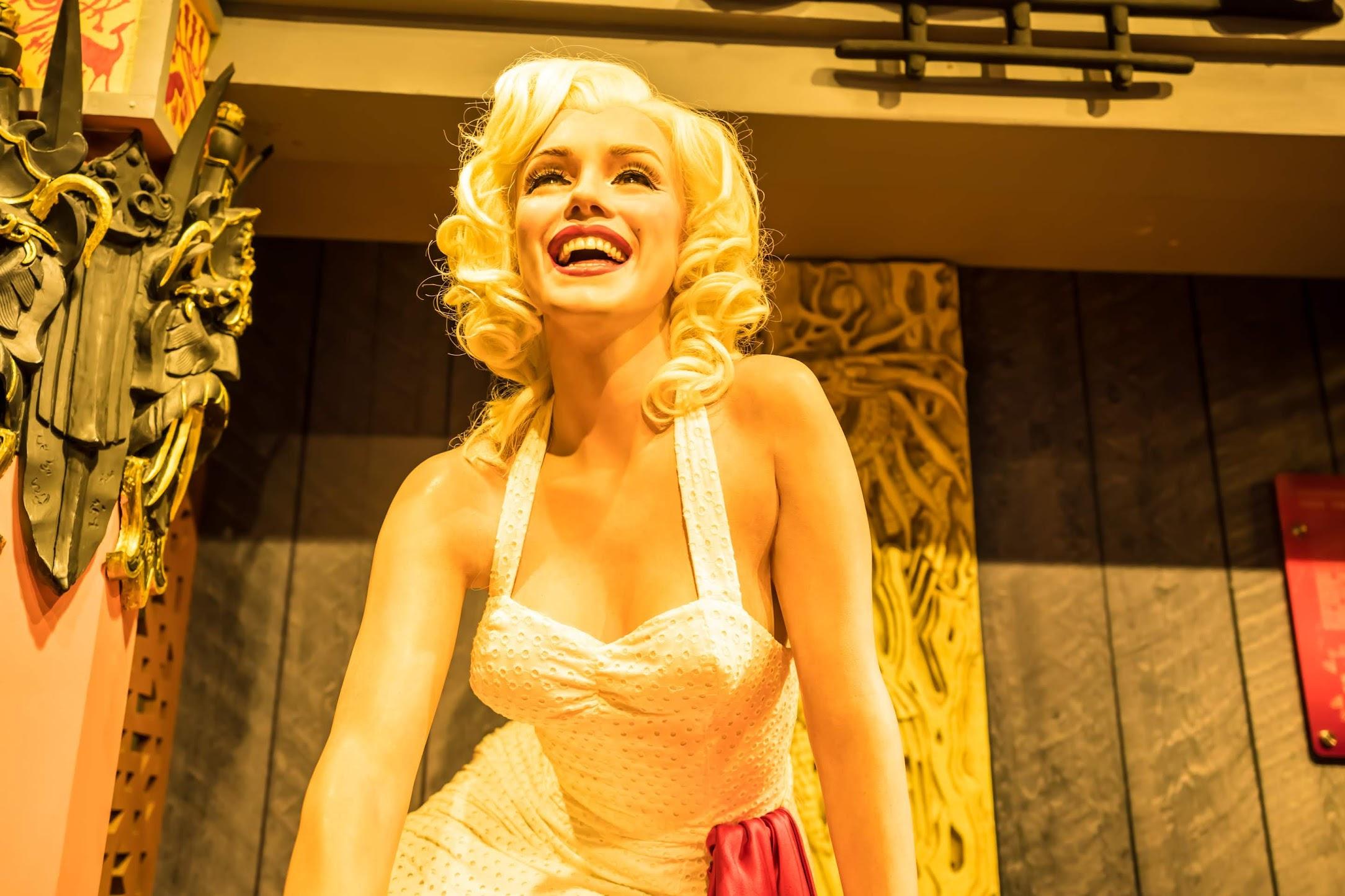 Singapore Sentosa Island Madame Tussauds Singapore Marilyn Monroe