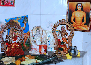 Photo: shrine at Feeding place