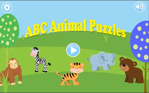 Kids ABC Animal Puzzles FREE