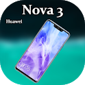 Theme for Huawei Nova 3: Huawei Nova 3 launcher icon
