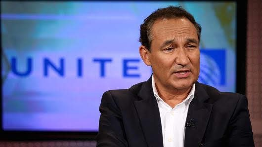 United Airlines CEO cuts ties with NRA and gunowners for 'personal' reasons