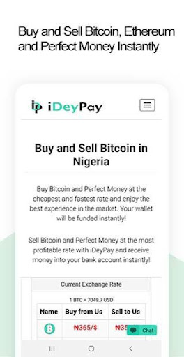 Download iDeyPay - Buy Bitcoin, Ethereum Perfect Money Free for Android -  Download iDeyPay - Buy Bitcoin, Ethereum Perfect Money APK Latest Version -  APKtume.com
