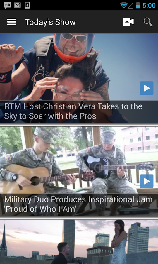 RTM Videos- screenshot