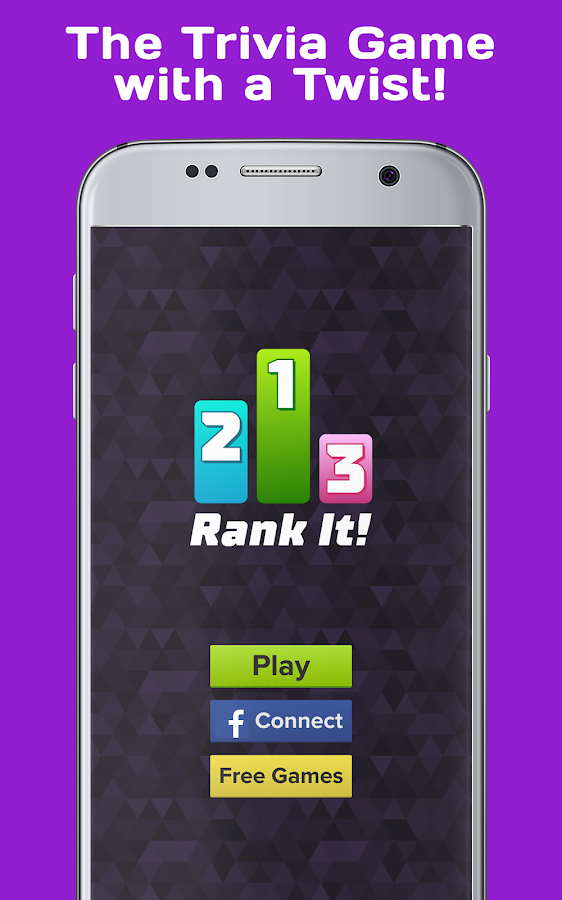 Rank It! Trivia - Brain Test- screenshot